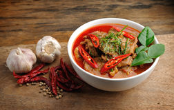 Delicious Thai panang curry Royalty Free Stock Photography