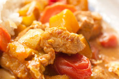 Delicious Thai pork curry Royalty Free Stock Images