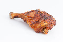 Delicious Thai style grilled chicken drumstick Royalty Free Stock Images