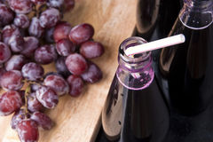 Delicious Thirst Quenching Refreshing Grape Juice Stock Image