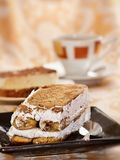 Delicious tiramisu Stock Images
