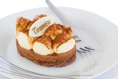 Delicious tiramisu cake Stock Photos
