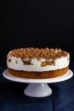 Delicious tiramisu cake on cake stand Stock Images