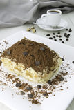 Delicious tiramisu dessert Stock Photo