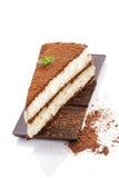 Delicious tiramisu dessert. Stock Photo