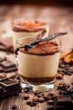 Delicious tiramisu dessert Stock Image