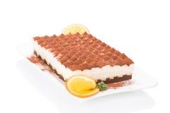 Delicious tiramisu dessert. Royalty Free Stock Images