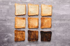 Free Delicious Toast On Wooden Background. Healthy Food For Breakfast Royalty Free Stock Photos - 107133378
