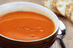 Delicious Tomato Bisque Royalty Free Stock Image