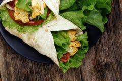 Delicious tortilla Stock Photo