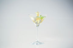 Delicious transparent cocktail. In studio Stock Photo