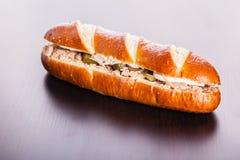 Delicious Tuna sandwich Stock Photo