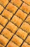 Delicious Turkish baklava Stock Image