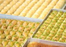 Delicious Turkish baklava Stock Photography