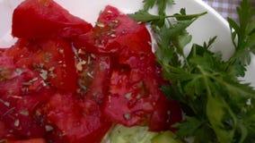 Delicious Turkish Breakfast Concept stock video
