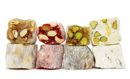Delicious Turkish delight Royalty Free Stock Image