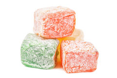 Delicious turkish delight Royalty Free Stock Images