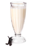 Delicious vanilla milkshake Royalty Free Stock Photography
