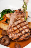 Delicious veal chop Royalty Free Stock Image