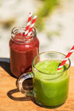 Delicious vegetable juice Stock Images