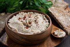 Delicious vegetable pate with spices Royalty Free Stock Image
