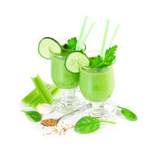Delicious vegetable smoothie Stock Image