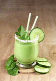 Delicious vegetable smoothie Royalty Free Stock Photo