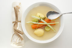 Delicious vegetable soup Royalty Free Stock Photography