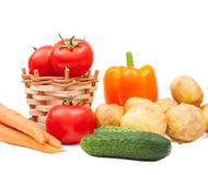 Delicious vegetables Stock Photography