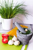 Delicious vegetables in the kitchen, before processing. Stock Image