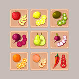 Delicious Vegetables Royalty Free Stock Image