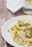 Delicious vegetarian pasta Stock Photography