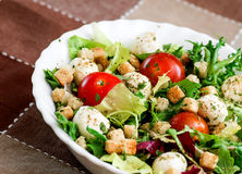 Delicious vegetarian salad Royalty Free Stock Images