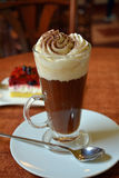 Delicious Viennese Coffee With Whipped Cream Royalty Free Stock Images