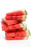 Delicious watermelon on the table Stock Image