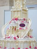 Delicious wedding cake Royalty Free Stock Image