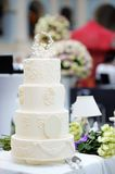 Delicious wedding cake Royalty Free Stock Images