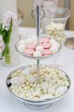 Delicious wedding sweets Stock Images