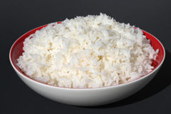 Delicious white rice Stock Photos