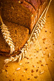 Delicious wholemeal baked bread Royalty Free Stock Photos