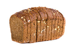 Delicious wholemeal baked bread Stock Photos