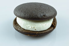 Delicious. An whoopee pie on a white back ground taken at 125 Royalty Free Stock Images