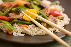 Delicious wok Royalty Free Stock Photo