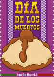 "Delicious ""Bread of the Dead"" for Mexican ""Dia de Muertos"", Vector Illustration Royalty Free Stock Image"