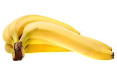 Delicious yellow bananas Stock Photography