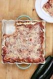 Delicious Zucchini Lasagna Stock Image