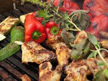 Deliciuos bbq Stock Photography