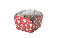 Deliciuos-Schokoladen-Schalen-Kuchen lizenzfreie stockfotografie