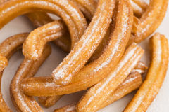 Deliciuos spanish Churros Stock Images