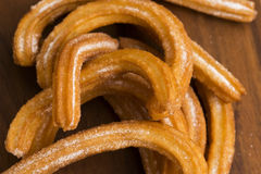 Deliciuos spanish Churros Royalty Free Stock Images